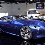 Япония начинает серийное производство Lexus 2017