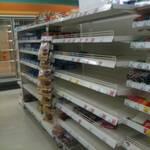 В Криму визнали, що прилавки магазинів пустують (відео)