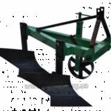 Плуг до міні-трактора ПЛН-2-25 для полегшення середньої та глибокої оранки