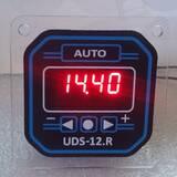 Годинник-таймер, UDS-12.R, Т4, від 1 хв. до 23 годин, 10 ступенів, реле часу