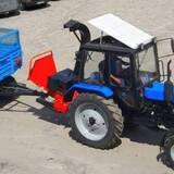 Навесная на трактор дробильная машина