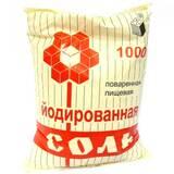 В продаже йодированная соль
