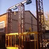 ЧП Южреммонтаж реализует грузовые подъемники под заказ