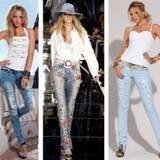 Модні джинси оптом. Тільки актуальні моделі джинсів!