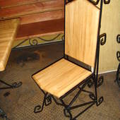 Ковані стільці. Сучасні моделі