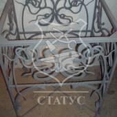 Кований каркас столу