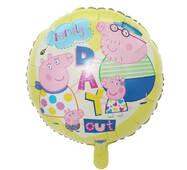 Повітряна фольгированный куля Свинка Пеппа сім'я (Китай)