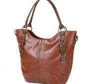 TRC Сумка повседневная (шоппер) Laskara Женская сумка из качественного кожезаменителя  LASKARA LK10186-brown