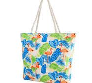 TRC Пляжная сумка Valiria Fashion Женская пляжная тканевая сумка VALIRIA FASHION 3DETAL1812-8