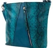 TRC Сумка повседневная (шоппер) Laskara Сумка женская LASKARA LK-10253-turquoise-snake
