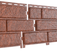 Фасадные панели Stone House Кирпич, цвет: Красный