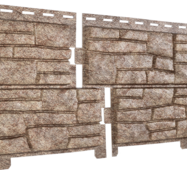 Фасадные панели Stone Hous Сланец, цвет: Бурый
