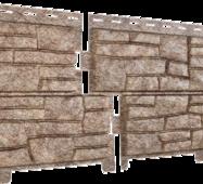 Фасадные панели Stone Hous Сланец, цвет: Бежевый