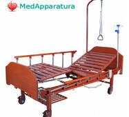Ліжко медичне електричне (2 функції) з полицею і накроватным столиком DB - 7 MM-077Н
