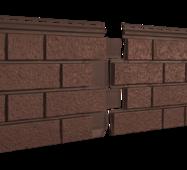 Фасадные панели Stone Housе S-Lock Клинкер, цвет:Терракотовый