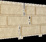 Фасадные панели Stone House Кирпич, цвет: Песочный