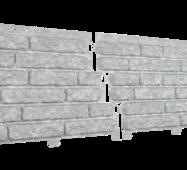 Фасадные панели Stone House Кварцыт, цвет: Светло-серый