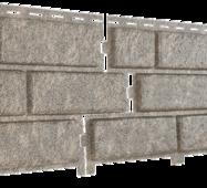 Фасадные панели Stone House Кирпич, цвет: Бежевый