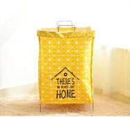 Кошик для іграшок сумка жовта Будиночок