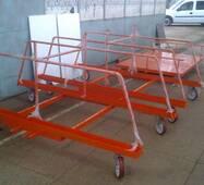 Тележка для перевозки легкоатлетических барьеров