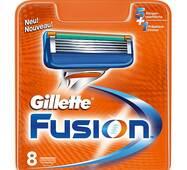 Касети Gillette Fusion, 1 уп./ 8шт