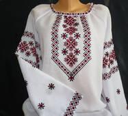 вишиванка жіноча ручної роботи на домотканому полотні