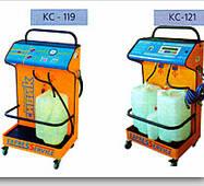 Установки для замены масла и охлаждающей жидкости