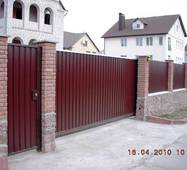 Сдвижные автоматические ворота