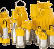 Занурювальні дренажні насоси Pumpex серії P401 - P3001, PX12 - PX30, PC1001 - PC3001