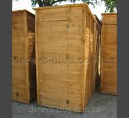 Туалет дерев'яний лакований
