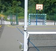 Стойка волейбольная универсальная
