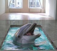 """3d-пол """"Дельфин"""""""