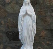Скульптура Богородиці з бетону