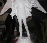 "Кабинетная скульптура - ""Ангел с мечем"""