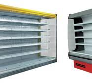 Регалы Горки холодильные (Регал - пристенный стеллаж)