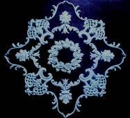 Набірна декоративна розетка (гіпс)