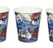 Одноразові картонні стаканчики 2 Smurfs