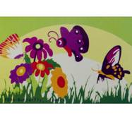 Мольбертики с акриловыми красками Цветы