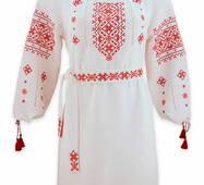 Праздничная вышитая одежда для свадьбы в этно стиле