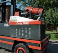 Газовий навантажувач б/в Linde S60