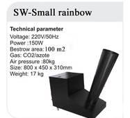 Конфетті машина SW-SMALL RAINBOW
