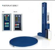 Напівавтоматична пакувальна машина палетообмотувач ROTOPLAT Серії 7 ROBOPAC