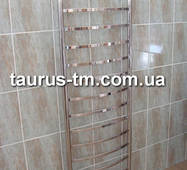 Огромный полотенцесушитель н/ж Elite 15 /1550х450 мм для большой ванной комнаты. Водяной, электро, гибрид. 1/2