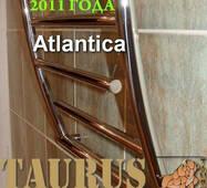 Симпатичний полотенцесушитель Atlantica 12/ 500 з нержавіючої сталі в стильну ванну кімнату