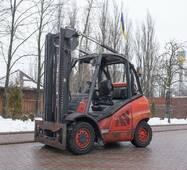 Вилочний навантажувач газ/бензин б/в Linde H 35 T