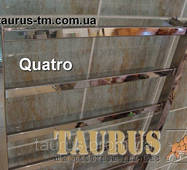 Полотенцесушитель для большой ванной комнаты Quatro 15/1550х450. Плоский дизайн. Квадратные трубы 20х10, 30х30