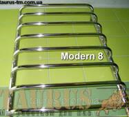 Полотенцесушитель Modern 8 /850х500 в ванную комнату. П-образная перемычка; Круглая н/ж труба 20 и 32. TAURUS