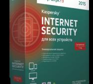 Kaspersky Internet Security для всех устройств 2015, продление лицензии на 1 год на 2 устройства.  (Kaspersky Lab)