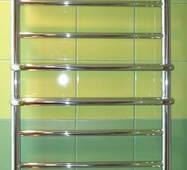 Большой узкий полотенцесушитель для ванной комнаты Comfort 12-8/1250х400 мм с усиленной теплоотдачей