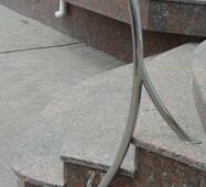 Перила з полірованої нержавіючої сталі Exclusive
